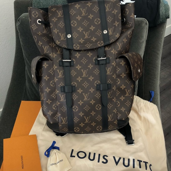f77412f43478 Louis Vuitton Christopher PM Backpack